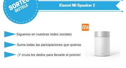 SORTEO: Altavoz Xiaomi Mi Speaker 2, ¡te lo regalamos!