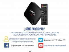 SORTEO: Llévate gratis este Android TV MX3
