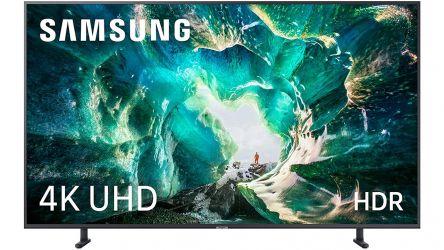 Samsung UE55RU8005, un televisor implacable para videojuegos