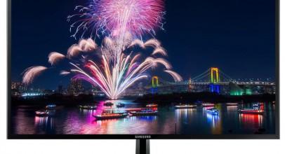 Samsung S27F358FW, un monitor medio muy elegante