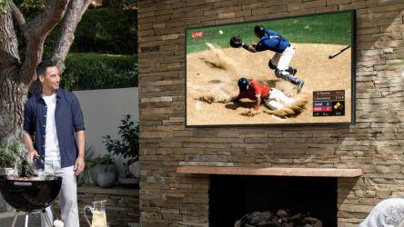 Samsung Terrace es el nuevo televisor para exteriores
