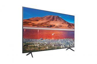 Samsung UE43TU7105, económico televisor 4K de imagen nítida