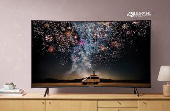 Samsung UE49RU7372, un televisor inteligente curvo con resolución UHD