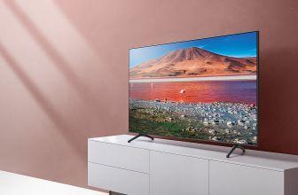 Samsung UE50TU7125, uno de los 4K más baratos de este 2020