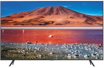 Samsung UE55TU7105, el nuevo televisor 4K con pantalla Crystal Display