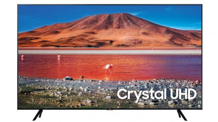 Samsung UE65TU7072, una TV 4K con Crystal Display y AirPlay 2