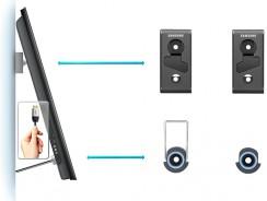 Samsung WMN550M, un soporte de pared pequeño y fácil de instalar
