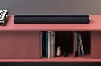 Sharp HT-SB106, una barra de sonido Bluetooth con diseño compacto