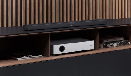 Sharp HT-SBW160, una barra de sonido con altavoz inalámbrico de graves