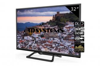 TD Systems K32DLM10H, un televisor básico por menos de 130 euros