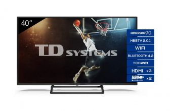 TD Systems K40DLX11FS, televisor Full HD que incluye Android 9.0