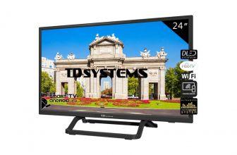 TD Systems K24DLX10HS, disfruta de una resolución HD con Smart TV