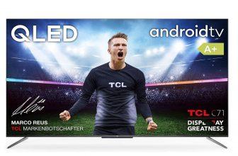 TCL 50C715, televisor ultra delgado que ofrece HDR Premium y Android