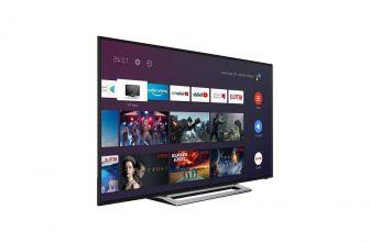 Toshiba 43UA3A63DG, el poder de Android TV en un equipo económico