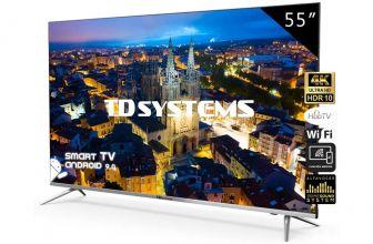 TD Systems K55DLJ10US, un televisor que presenta mucha clase