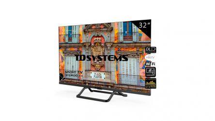 TD Systems K32DLX10HS, un televisor que te dejará maravillado