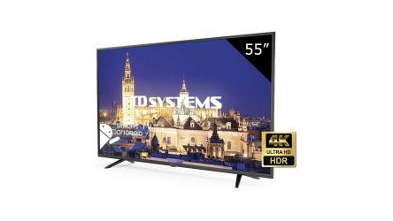 TD Systems K55DLX9US, un TV económico que parece casi perfecto