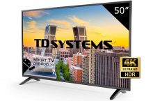 TD Systems K50DLM8US, una opción UHD barata con Android