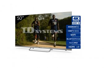 TD Systems K50DLX11US, una tele Ultra HD 4K con Android muy barata