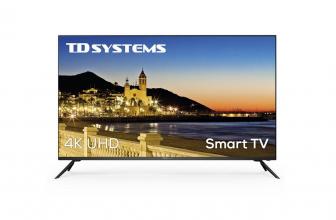 TD Systems K50DLX9US, una tele barata que tiene de todo