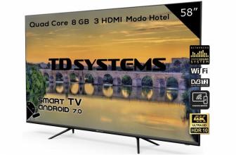 TD Systems K58DLX9US, un televisor de 58 pulgadas UHD con HDR10