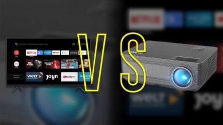 Proyector o TV: ¿pueden ser sustitutos?