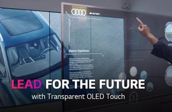 Transparent OLED Touch, el nuevo panel transparente de LG