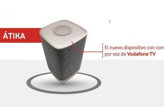 Vodafone Átika, un altavoz para controlar Vodafone TV