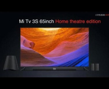 Xiaomi Mi TV 3S, 65 pulgadas e inteligencia artificial