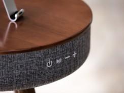 El altavoz-mesa Mellow que decora y sintoniza a partes iguales