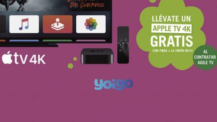 ¿Quieres disfrutar de Apple TV+ gratis un año? ¡Regalo de Yoigo!