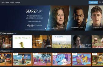 Conocemos los nuevos canales de pago en Amazon Prime Video